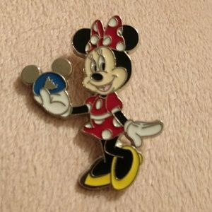 Minnie Mouse Celebrate Every day Holding Mouse Hat